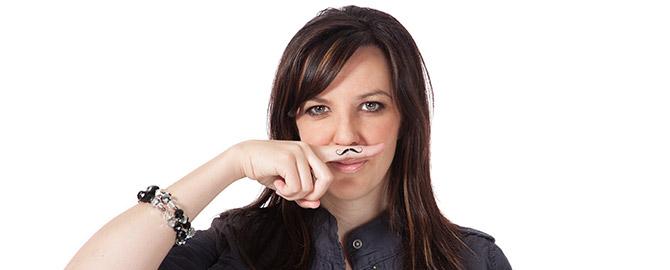 Finger Mustache Repair Discount - Monday April 11th