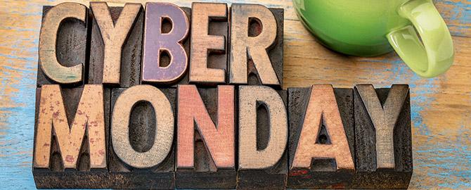 Cyber Monday Discount - Monday November 27th