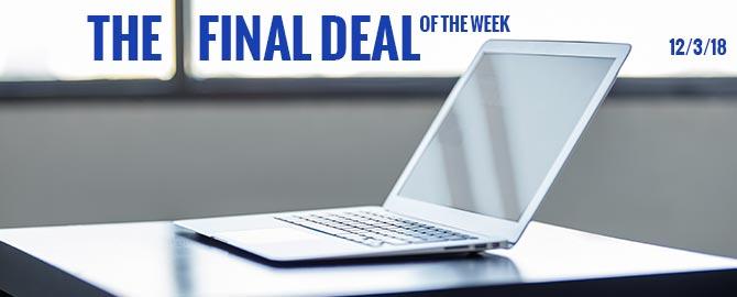 Week of December 3rd - The Final Deal Of The Week Discount